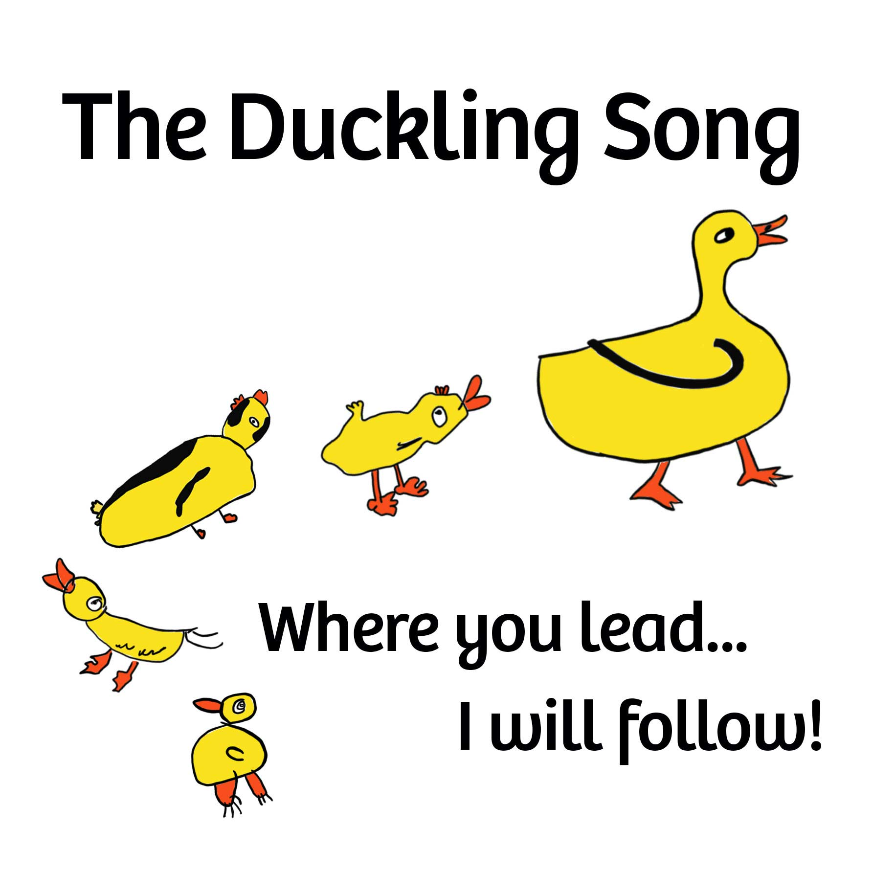 The Duckling Song (Where He Leads)